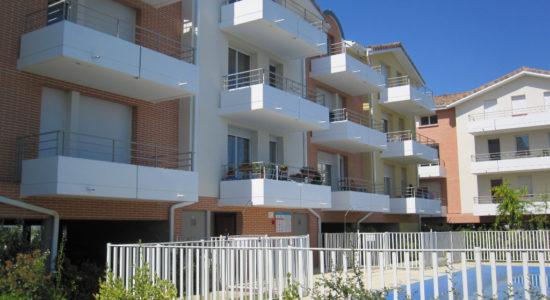 T3 en Duplex Villemur sur Tarn avec balcon et parkings – 582.95 €