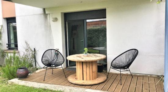 Appartement Toulouse  Saint Martin du Touch  – 3 pièces  – 61.50 m² – 198000 €