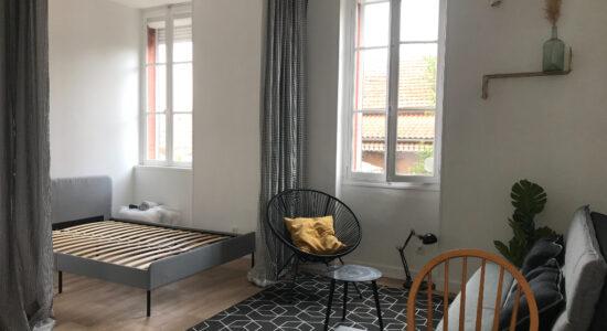 T1 Bis Meublé Faubourg Bonnefoy – 550 €