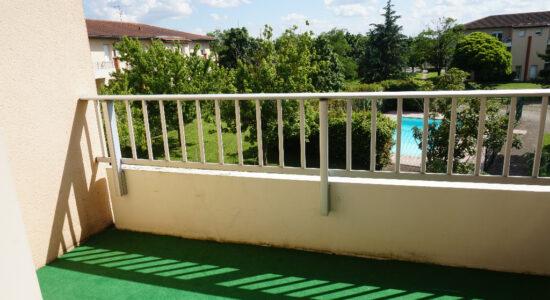 T1 BIS Météo France avec balcon – 461.32 €